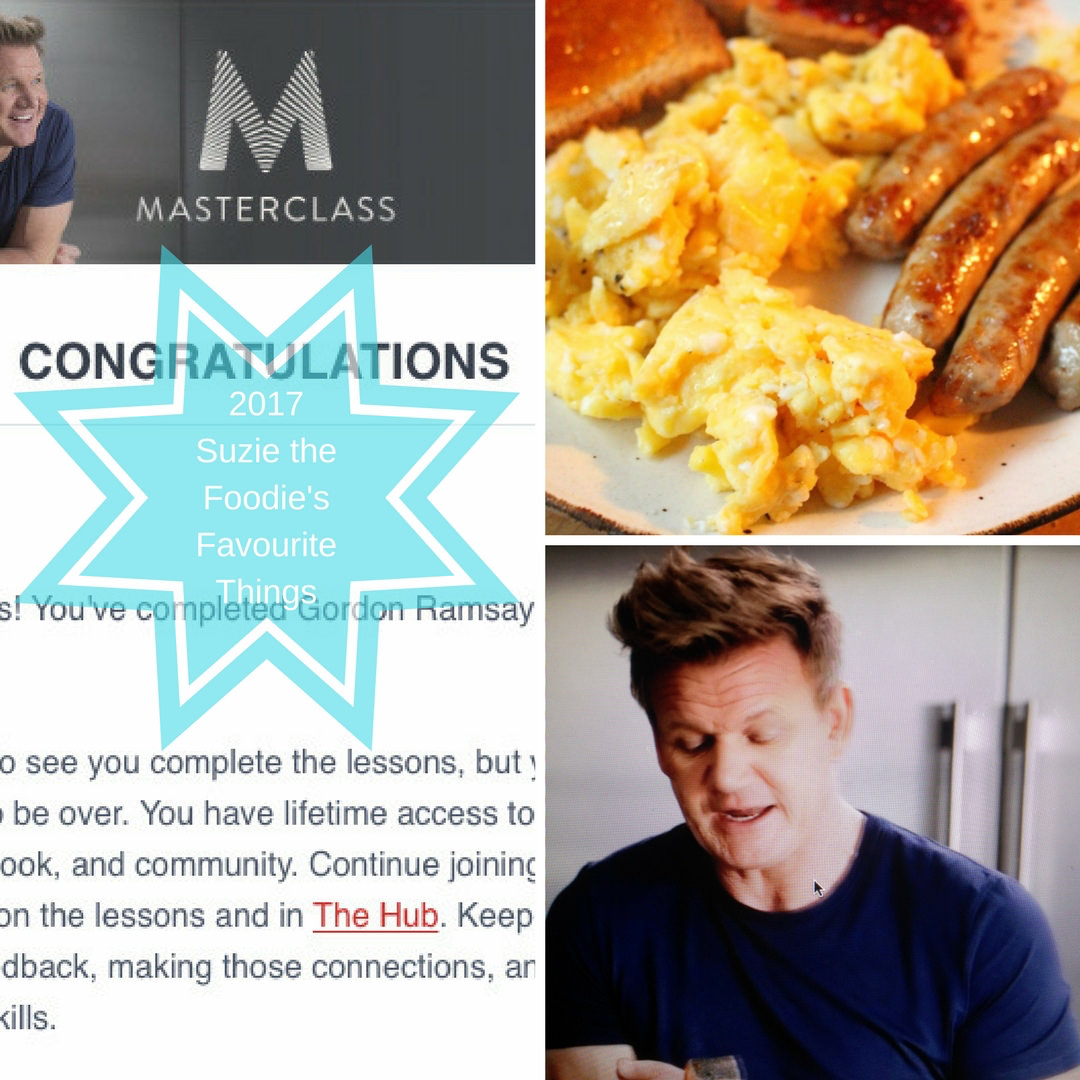 Review of Gordon Ramsay's Masterclass