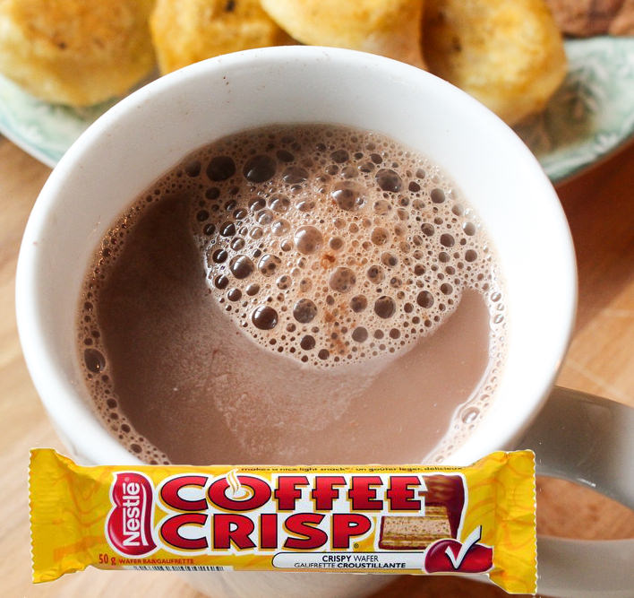 Nestlé Coffee Crisp Hot Chocolate