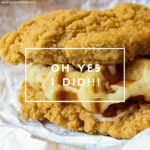 Product Review KFC's Waffle Double Down & A Bit Of My Foodie History