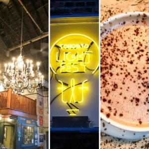 Balzac's, Toronto Light Festival & Union Restaurant