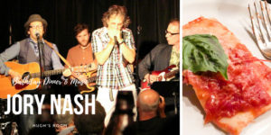 Dinner at Jory Nash's Performance at Hugh's Room
