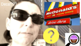 Suzie the Foodie Spy Investigates McDonald's For Summer Decaf Coffee Drinks