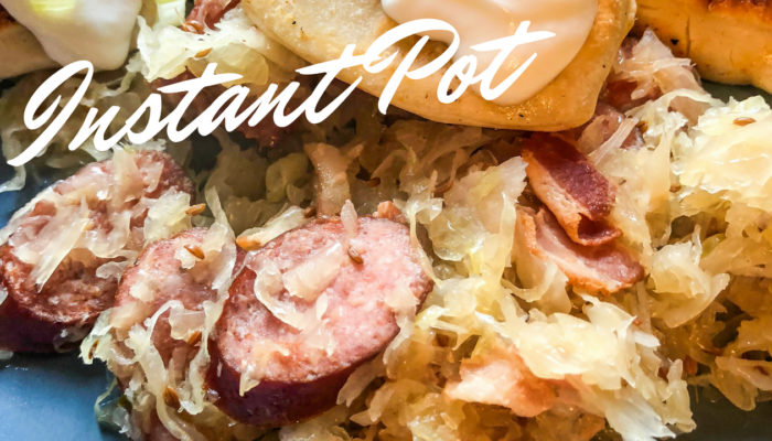 Instant Pot Sausage and Sauerkraut Dinner