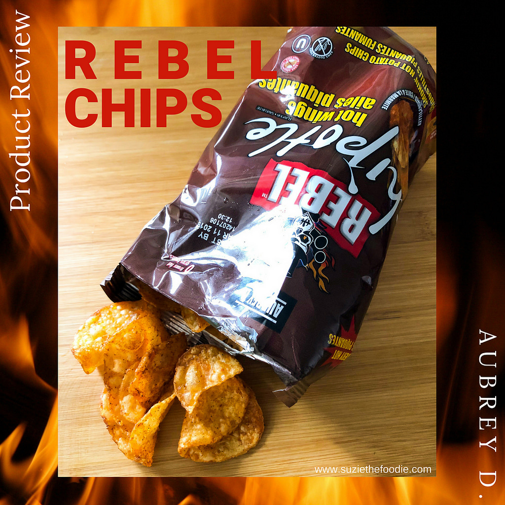 Aubrey D. Rebel Hot Chips & Sauce