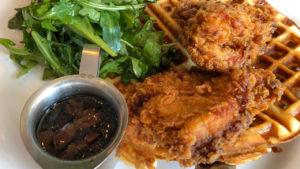 Chicken & Waffles At The Ellery