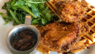 Chicken & Waffles At The Ellery