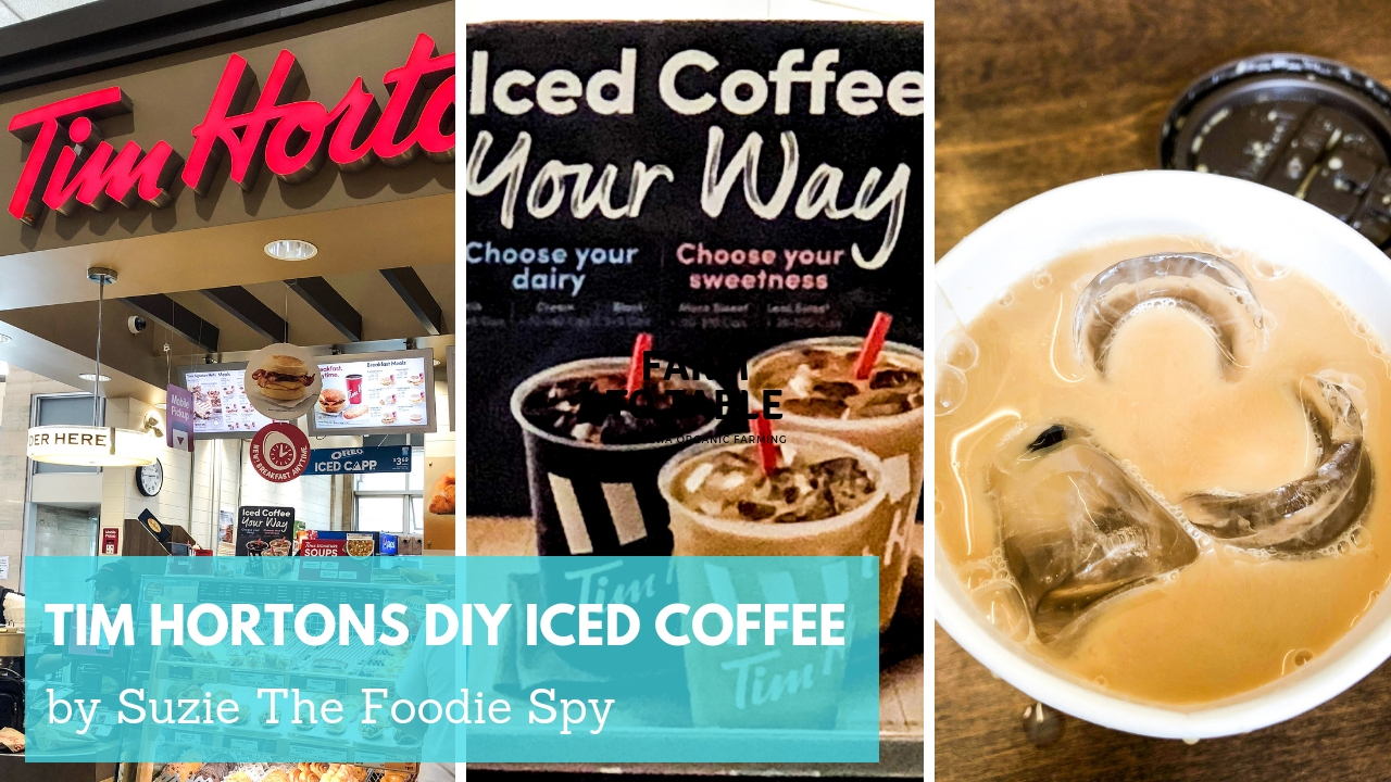 TIm Hortons DIY Iced Coffee