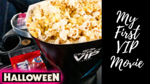 My First VIP Movie Experience… HALLOWEEN!!!