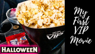 My First VIP Movie Experience… HALLOWEEN!!!