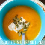 Suzie The Foodie's Pressure Cooker Butternut Squash Soup