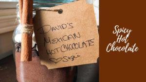 Spicy Hot Chocolate In A Gift Jar!