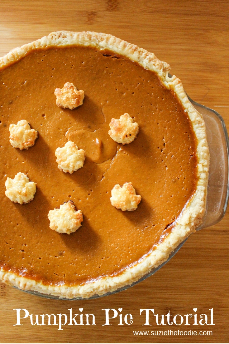 Pumpkin Pie Tutorial