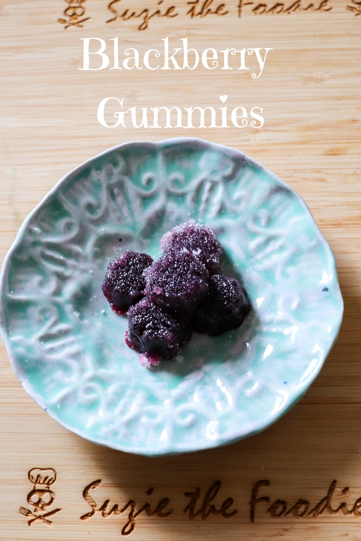 Homemade Blackberry Gummies