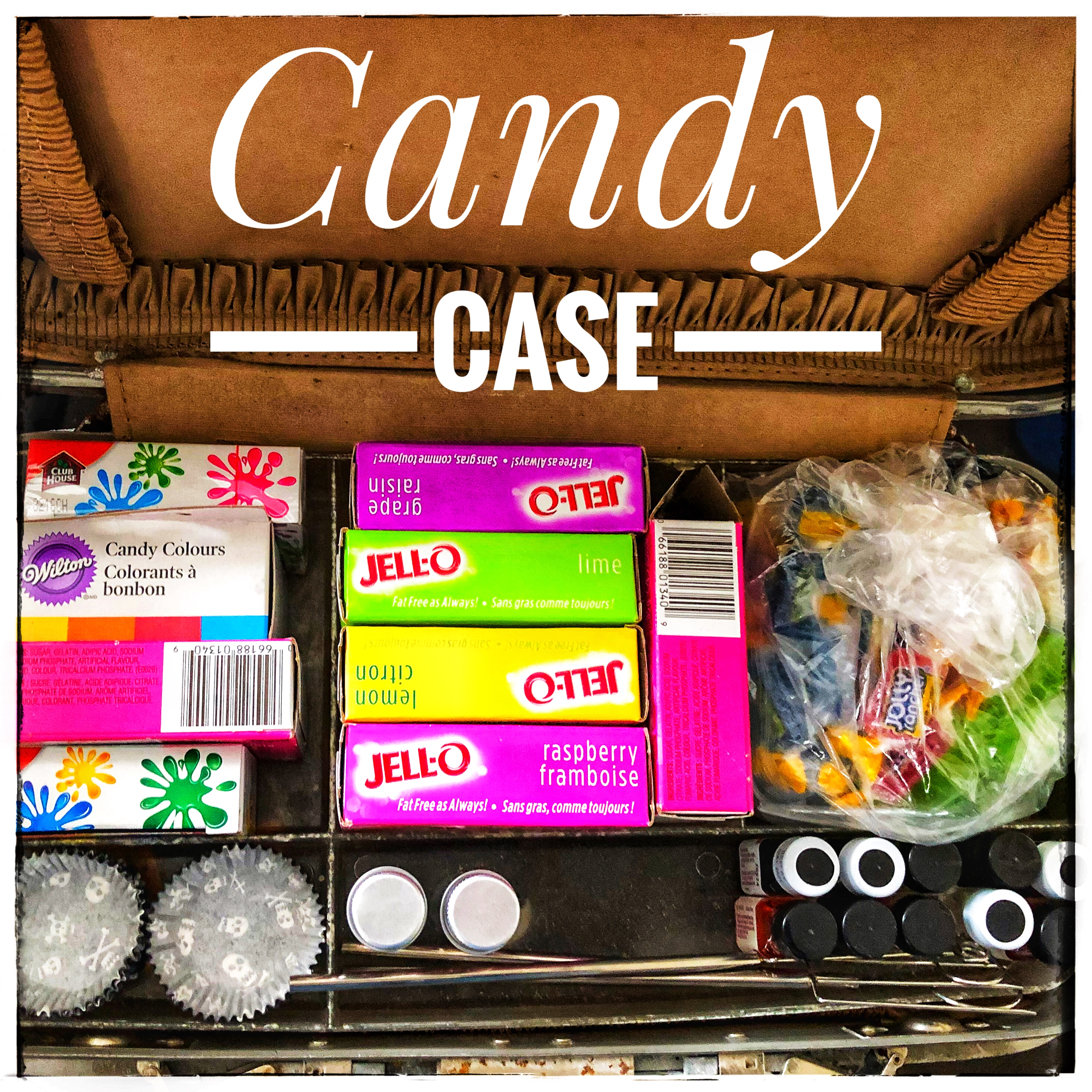 The Handwork Department & My New Candy Case