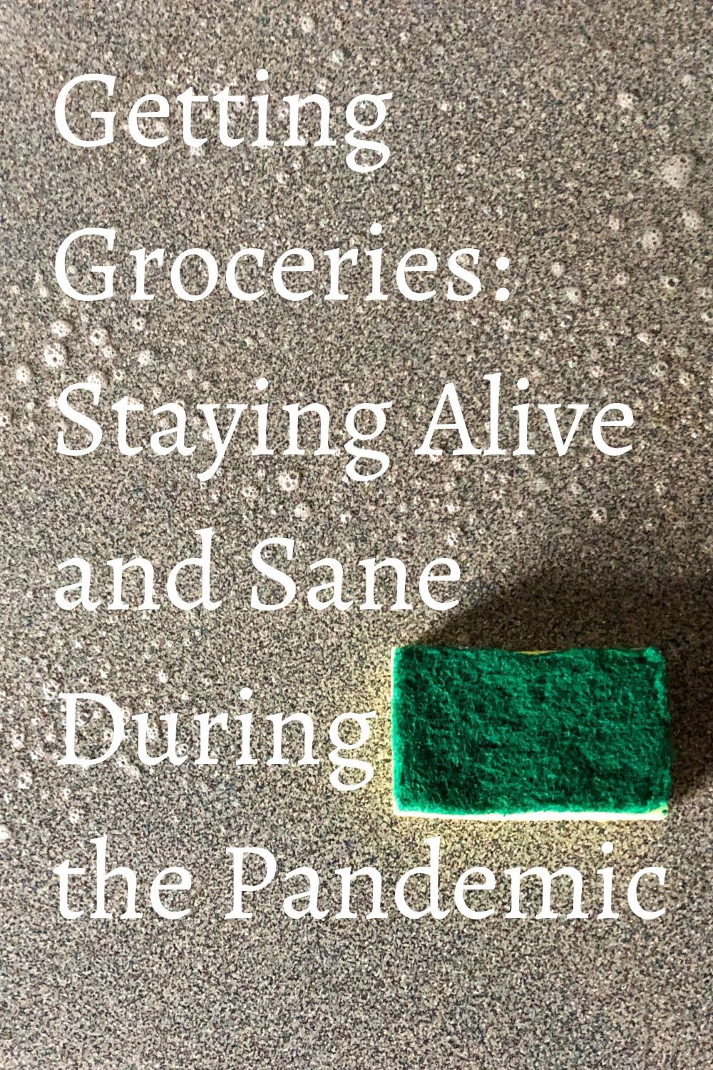 Getting Groceries: Staying Alive & Sane During the Pandemic