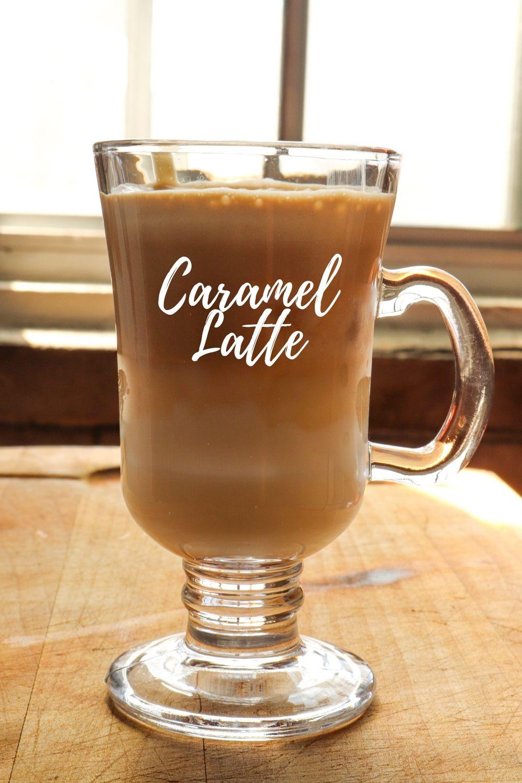 Caramel Latte & Banana Frappuccino