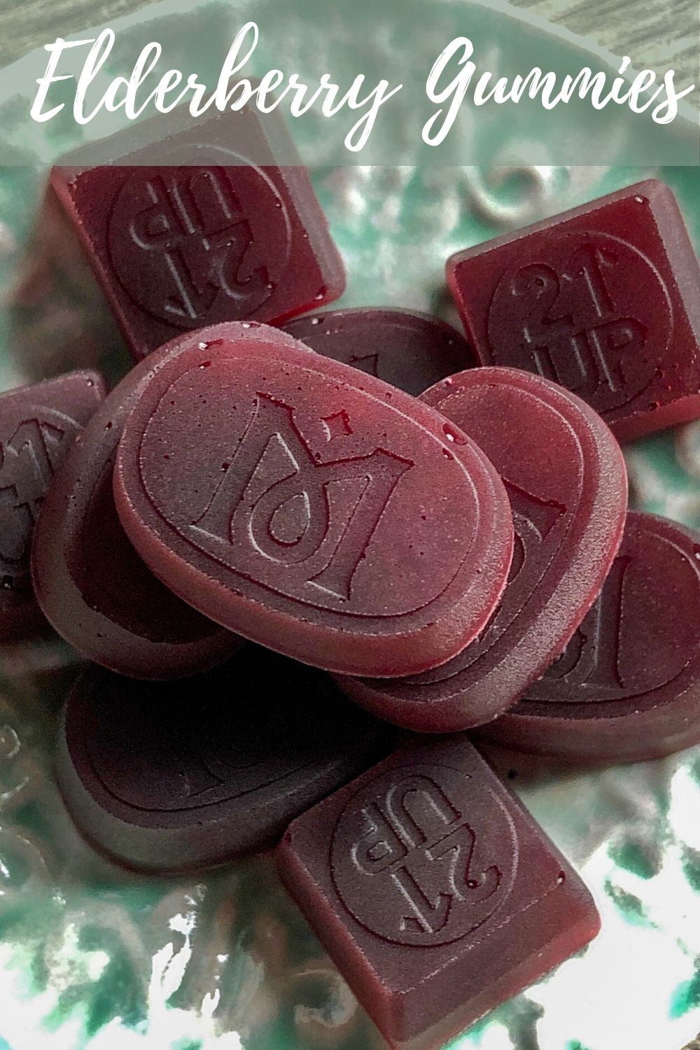 DIY Immunity Elderberry Gummies