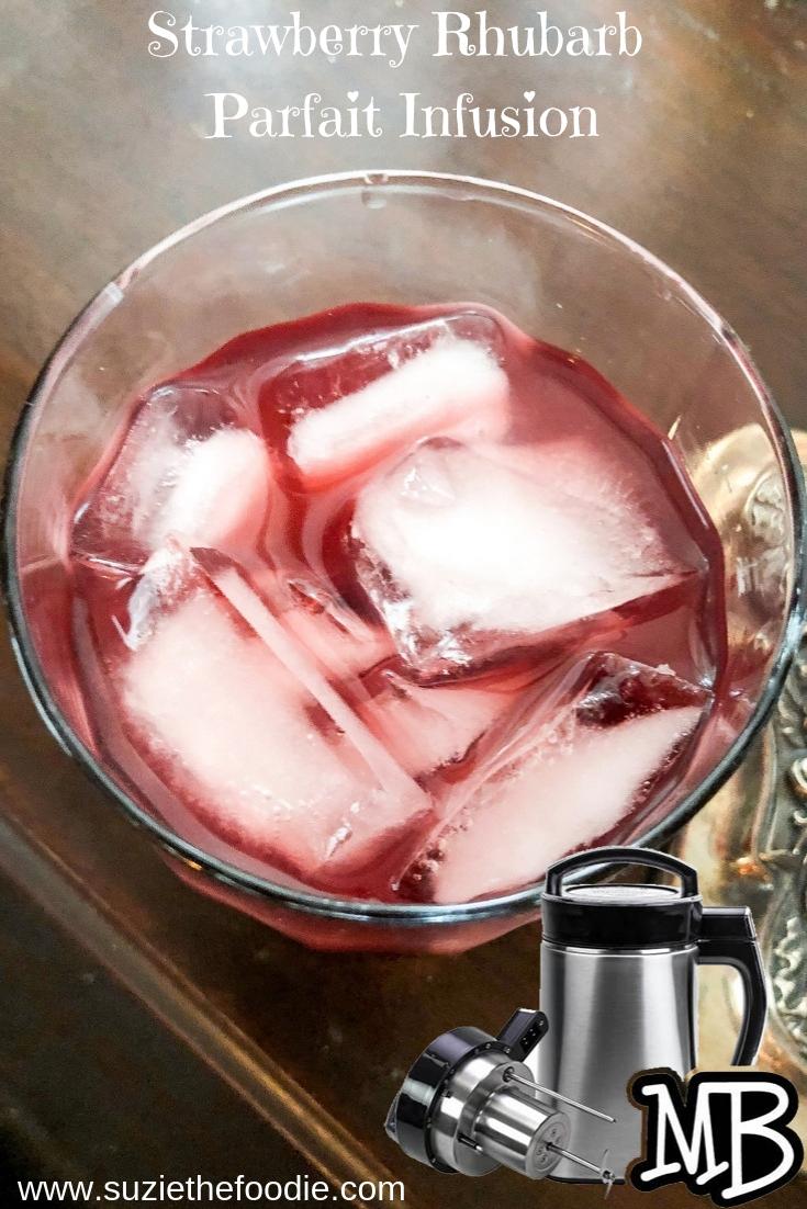 Strawberry Rhubarb Parfait Infusion